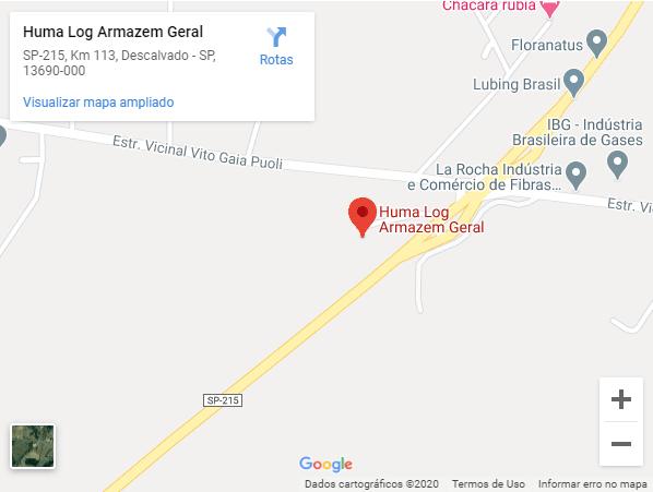 Localização de Empresa de Transporte Rodoviário